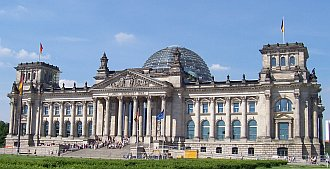 Reichstag in Berlin – domicile of the Bundestag